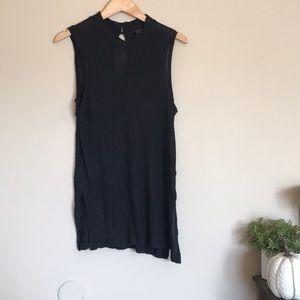 Lucky Brand | black keyhole back sleeveless tank